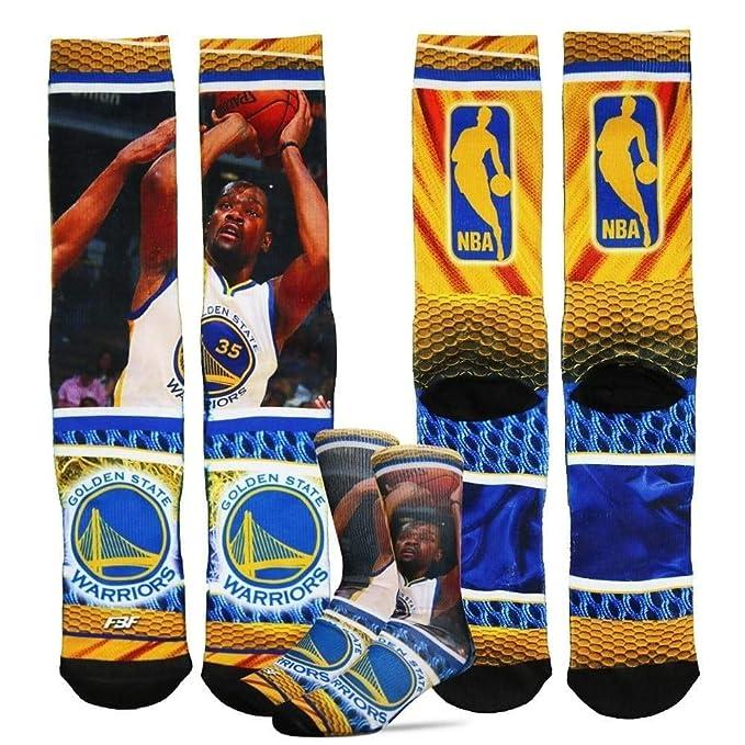 beda03fa9e88 Golden State Warriors NBA Hardplay Crew Socks 1 Pair - Kevin Durant  35  (Large