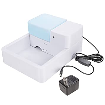 Homdox Automatic Electric 1.8L Pet Water Fountain Dog Cat Drinking Bowl  With LED Light UK