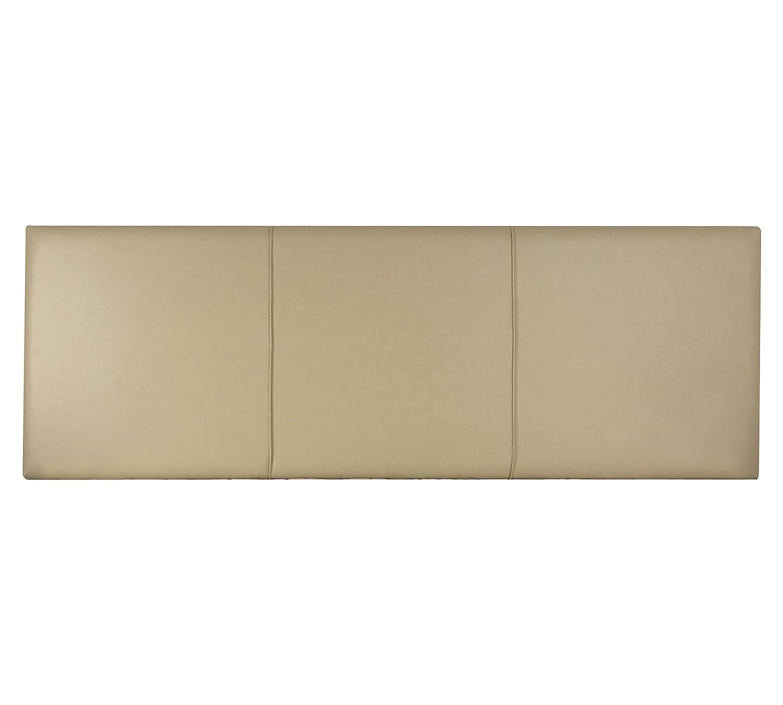 SERMAHOME- Cabecero Andorra tapizado Polipiel Color Beige. Medidas: 110 x 55 x 7 cm (Camas 80, 90 y 105 cm).: Amazon.es: Hogar