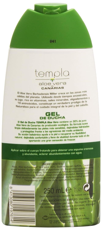 Templa - Aloe Vera de Canarias - Gel de ducha - 250 ml ...