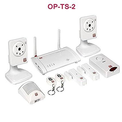 HOME BURGLAR Sistema de alarma sin cables CCTV MOTION ...