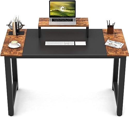 Best home office desk: CubiCubi Computer Office Small Desk 47″