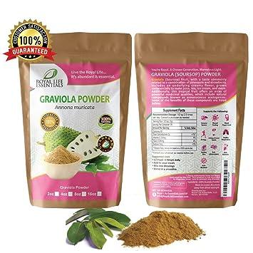 Amazon com: Graviola Soursop Guanabana Paw Paw Leaf Powder Herbal