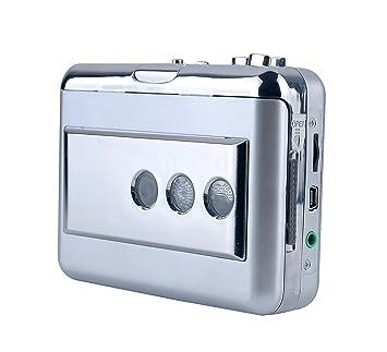 Amazon.com: ezcap218b USB Convertidor de casete con entrada ...