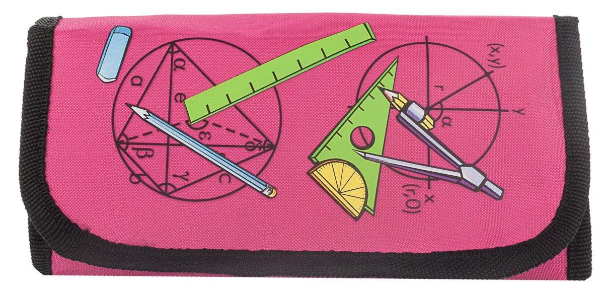 MW Set di 12 articoli per compasso e squadre, in astuccio colorato rosa Mw Handelsges. Mbh PI