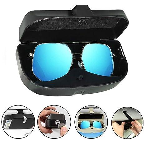 Amazon.com: 1 soporte para gafas de coche para visera de sol ...
