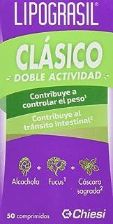 Lipograsil Clásico – Doble efecto: adelgazante y laxante – 50 comprimidos