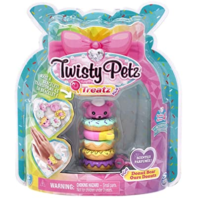 Twisty Petz Treatz - Donut Bear - Series 4: Toys & Games