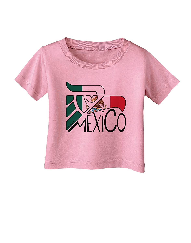 TooLoud Mexico Eagle Symbol Mexico Infant T-Shirt Mexican Flag