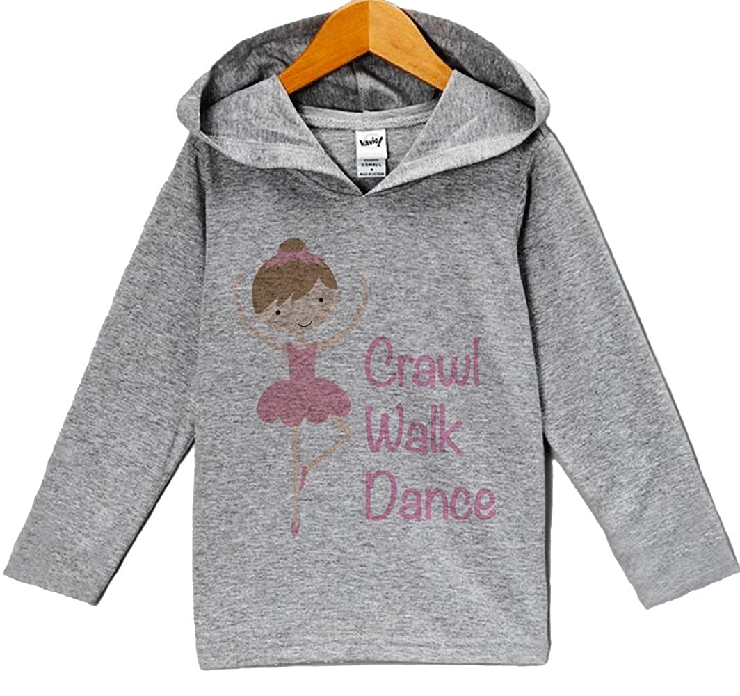 Custom Party Shop Baby Girls Novelty Ballerina Hoodie Pullover
