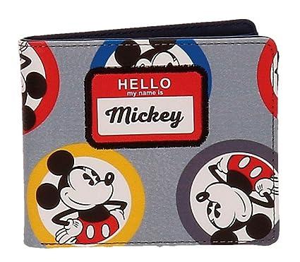 Disney Mickey Parches Porte-monnaie, 10 cm, 0.19 liters, (Azul)