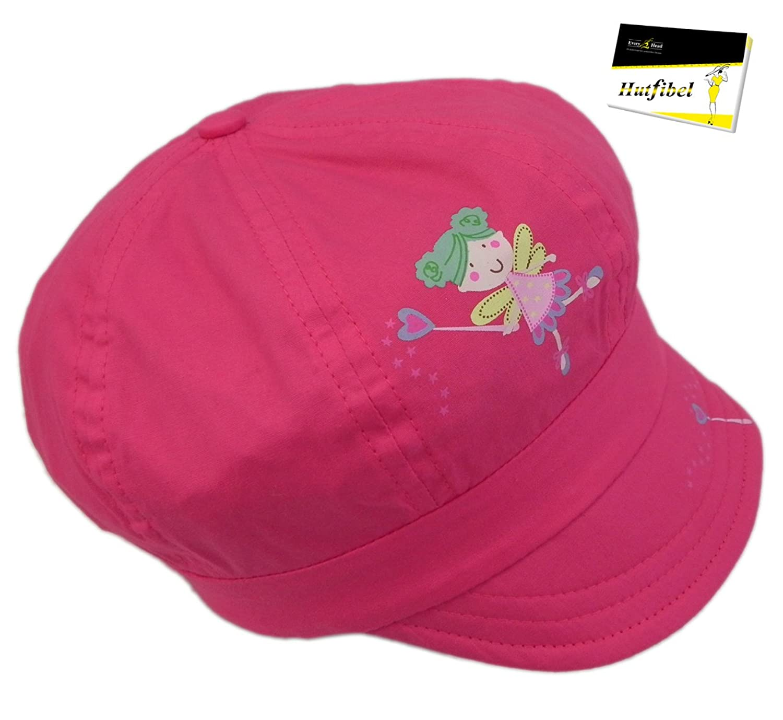 Ballonmütze für Mädchen mit niedlichem Feen-Print (PT-7929) - inkl. EveryHead-Hutfibel