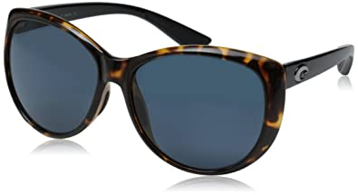 9dbc0008a41 Amazon.com  Costa Del Mar La Mar Sunglasses Retro Tortoise w  Black ...