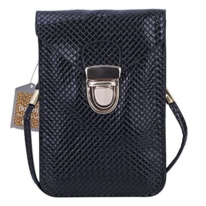 c06e922938 Image Unavailable. Image not available for. Color  Bosam PU Cell Phone  Purses Bag ...