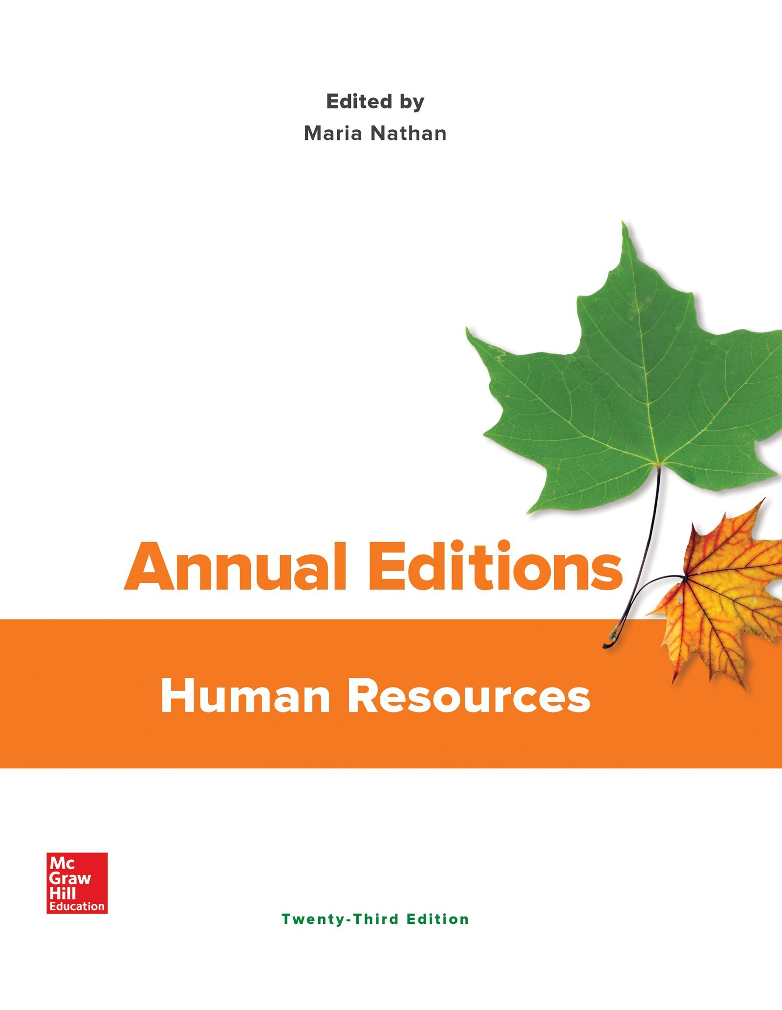 Annual Editions: Human Resources: Amazon.co.uk: Maria Nathan:  9781259873447: Books