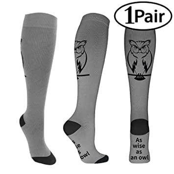 d2cec984fd Compression Socks for Men & Women 20-30 mmHg Medical Graduated Compression  Stockings for Running