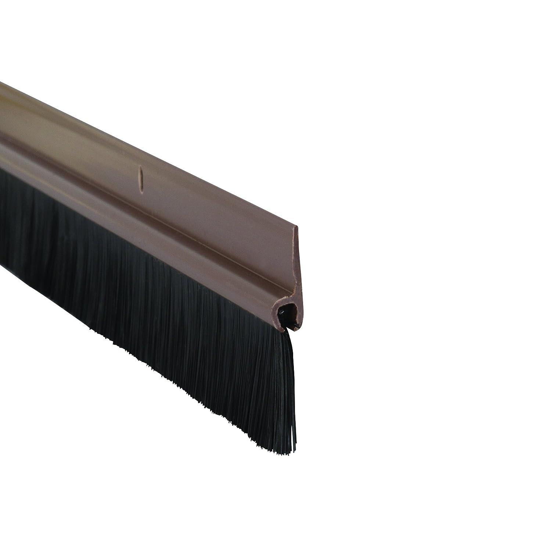 Stormguard 02SR0200838B - Burlete para puerta, color marrón: Amazon.es: Bricolaje y herramientas