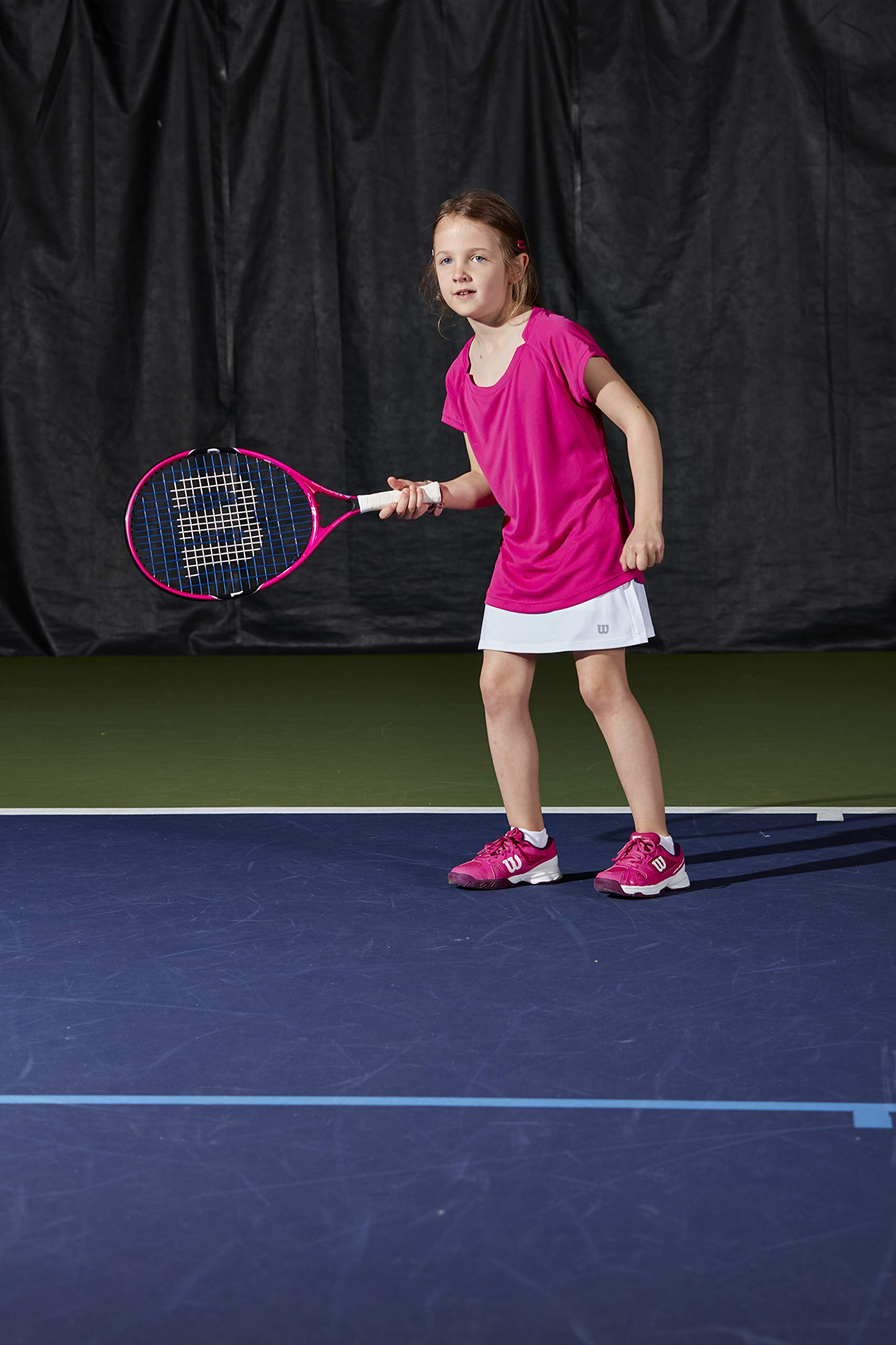 Wilson Junior Burn 19 Tennis Racquet, Pink by Wilson (Image #10)
