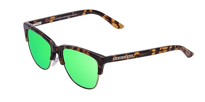 HAWKERS · CLASSIC X · Carey · Emerald · Gafas de sol para hombre y mujer