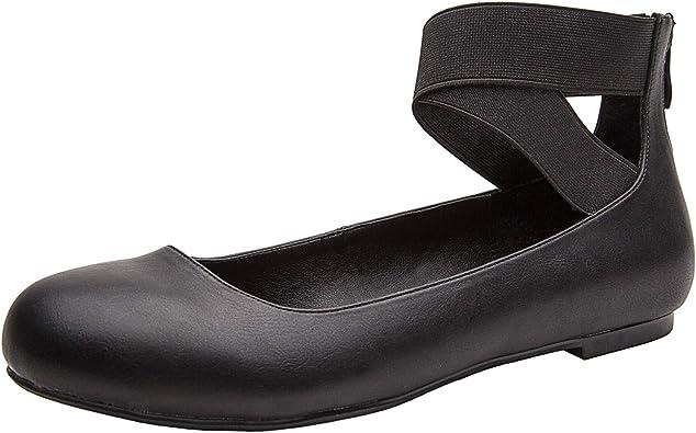 Mod Comfys Zapatos c/ómodos el/ásticos de ancho especial para mujer