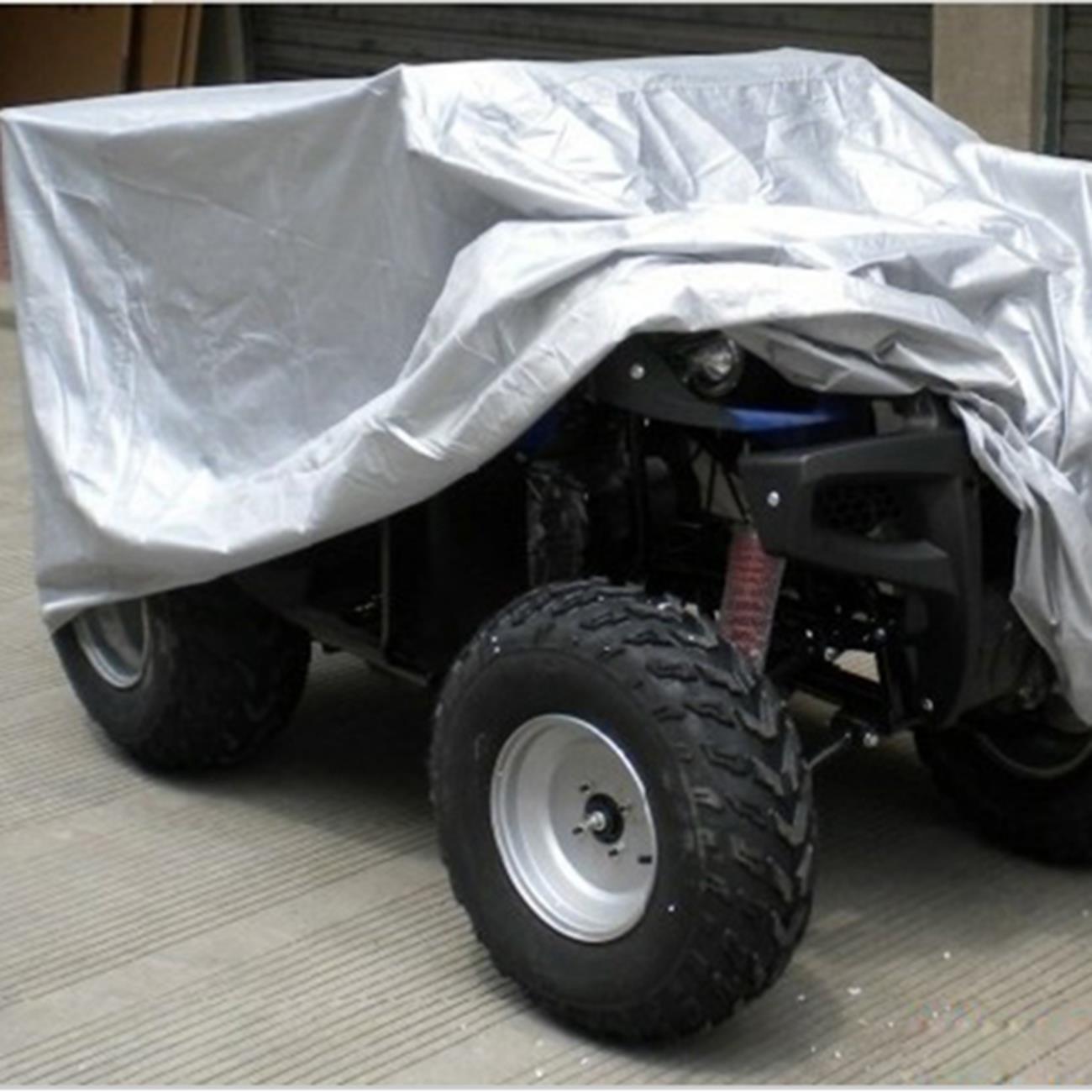 INNOGLOW 210T XL 210x120x115CM 82 Universal Black UTV ATV Storage Cover All Season Durable Waterproof Wind-proof UV Protection for POLARIS SUZUKI YAMAHA KAWASAKI HONDA RANCHER FOREMAN FOURTRAX RECON