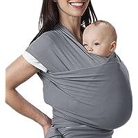 Lictin Echarpe de transport réglable d allaitement Housse Coton Sling Porte- bébé pour enfants 36c6dcec15d