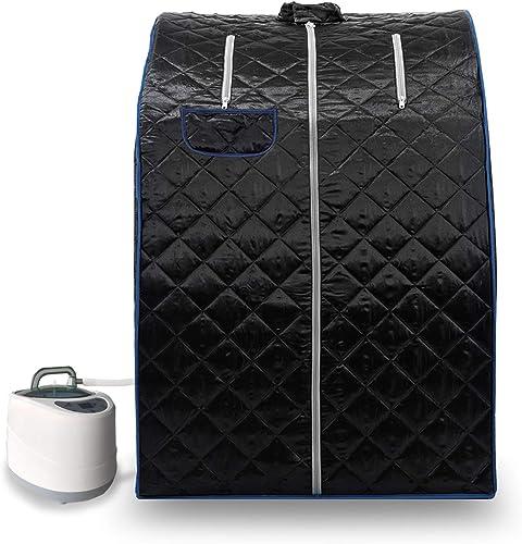 KUPPET 2020's Newest Portable Folding steam Sauna Room 2L Single-use Home Sauna spa