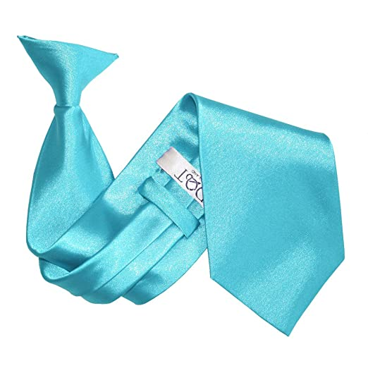 Central Retail Corbata de satén para hombre, color azul huevo ...