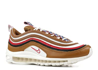 Nike Mens AIR MAX 97 TT PRM Shoe Pull TAB Brown/SAIL/Black (