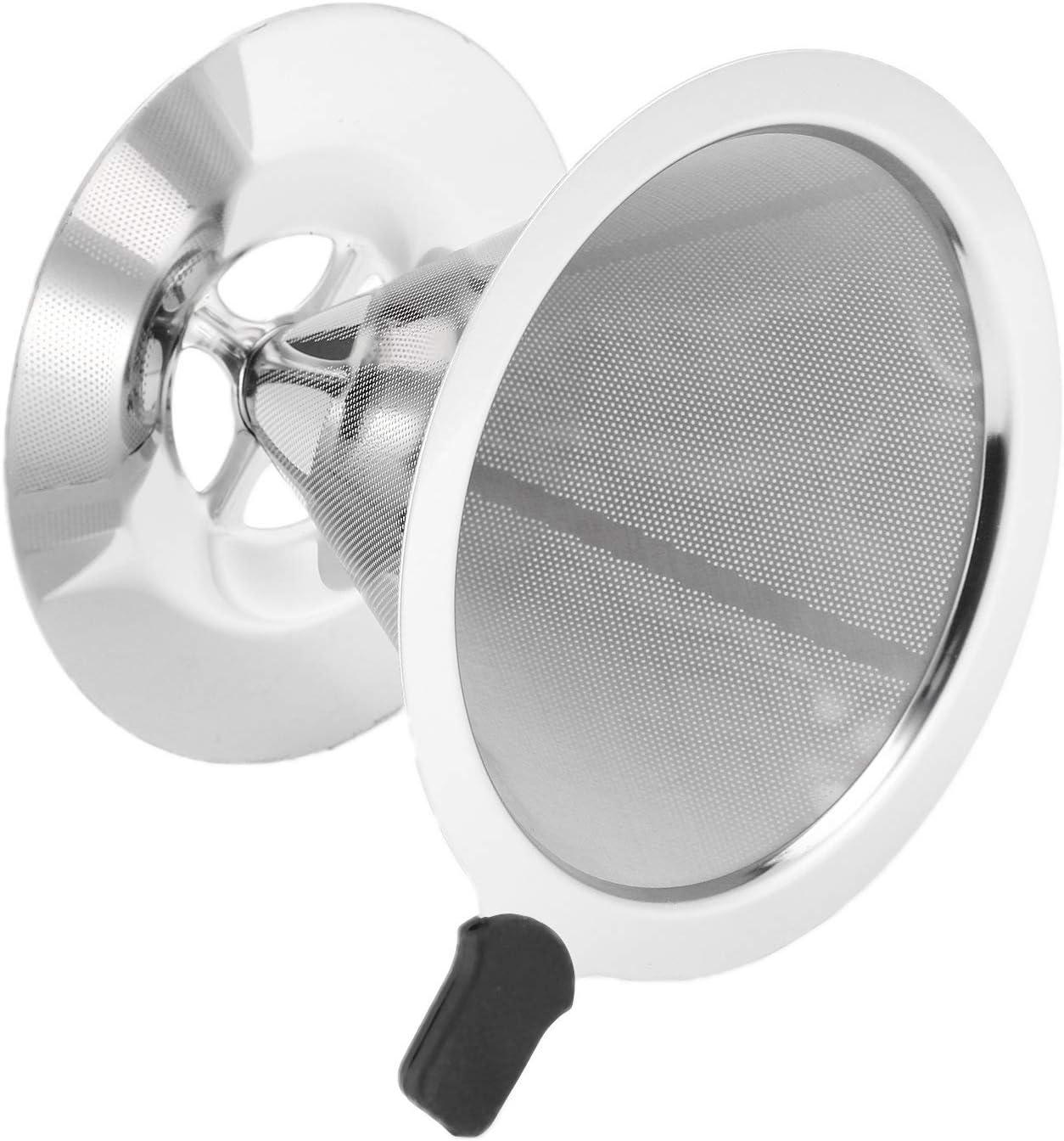 Moligh doll Porte-Filtre /à Caf/é R/éUtilisable Filtres /à Caf/é Filtre /à Caf/é en Acier Inoxydable pour Entonnoir Entonnoir Maille en M/éTal Caf/é Filtre Filtre Outils