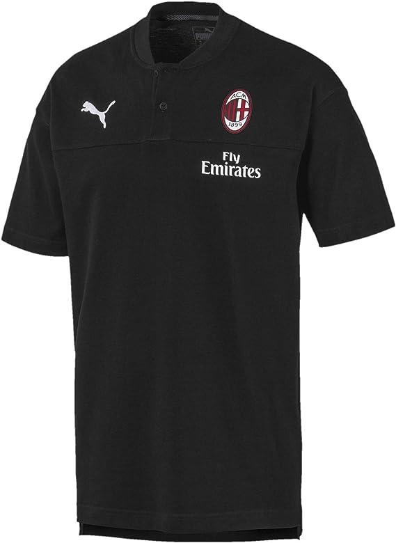 Puma 2019-2020 AC Milan Casuals - Camiseta de fútbol, color negro ...