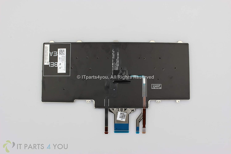 9170J New Genuine Dell UK English Backlit Laptop Keyboard for Latitude 5490 Latitude 5491 Latitude 5495 Latitude 7480 Latitude 7490