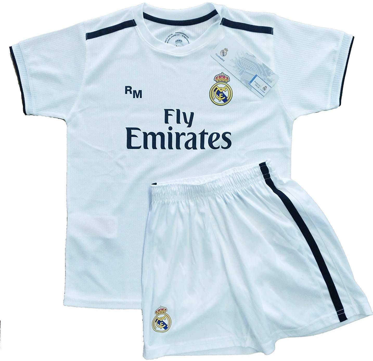 Real Madrid FC Kit Infantil Replica Primera Equipación 2018/2019 ...
