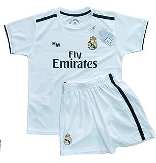 Real Madrid FC Kit Infantil Replica Primera Equipación 2018 2019 (4 Años) e0a67d605c0c8