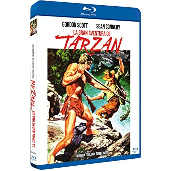 La Gran Aventura de Tarzán BDr 1959 Tarzan's Greatest Adventure [Blu-ray]