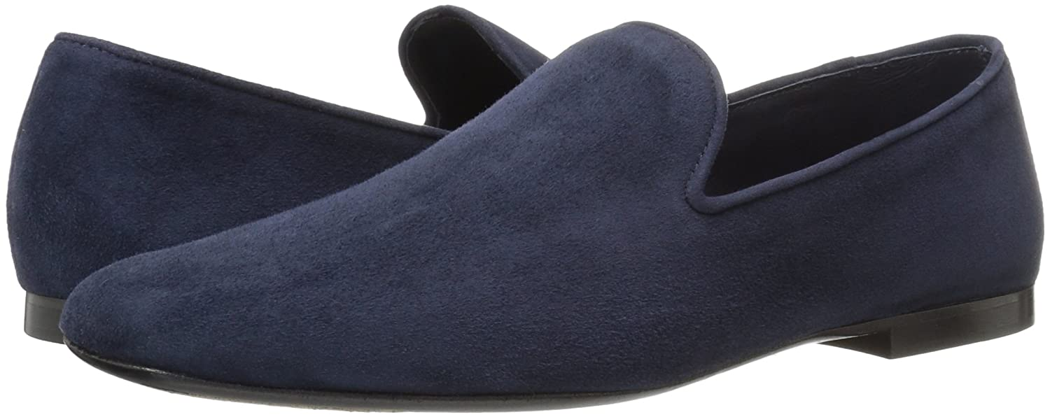 191afee9f76 Amazon.com  Vince Women s Bray Deep Blue Suede Slip-On Loafer  Shoes