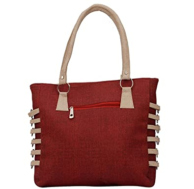 c9506726de Darash Fashion Pu Material Women s Handbag - Red(Bag-Nks-13)  Amazon.in   Shoes   Handbags