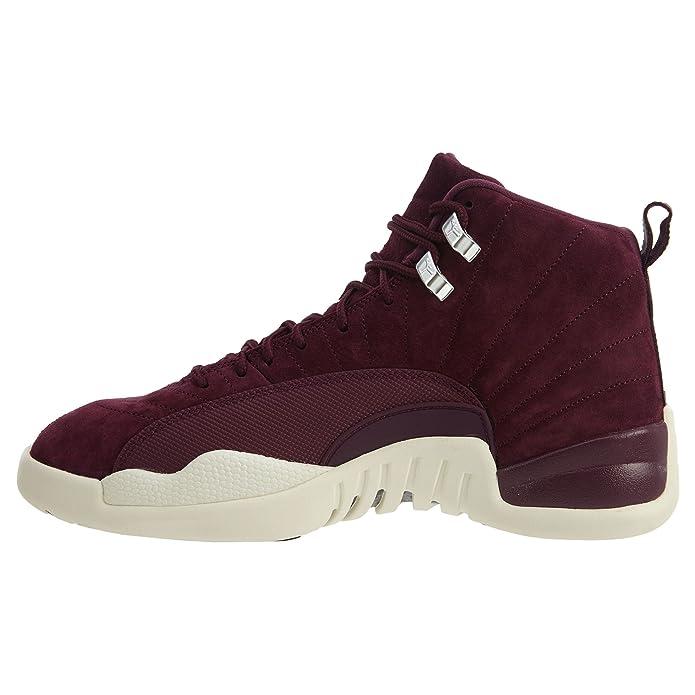 buy popular 5bb0e c435d AIR Jordan 12 Retro  Bordeaux  - 130690-617  Amazon.de  Schuhe   Handtaschen