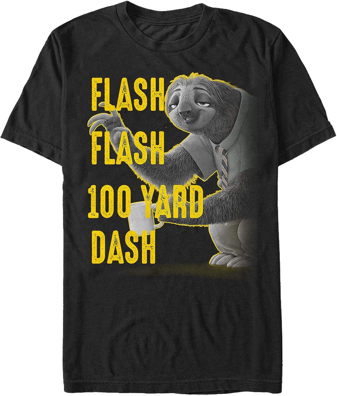 Zootopia Men's Sloth Flash 100 Yard Dash T-Shirt