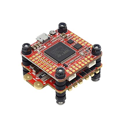 HGLRC Forward F7 FC Dual Gyro AIO Flight Controller Blheli32 60A 4 in 1 ESC  Built-in Betaflight OSD to Adjust PID for FPV Racing Drone Hobby RC