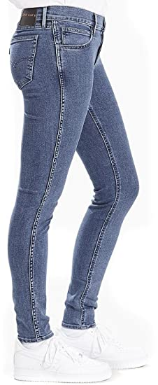 96b0fc2a Levi's Womens Line 8 Mid Skinny Jeans in Black Sheep: Levis: Amazon ...
