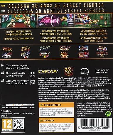 Street Fighter - 30th Anniversary: Xbox One: Amazon.es ...