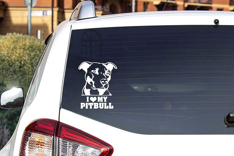 Staffie Bull Lives Matter Sticker k108 6 inch staffy dog decal