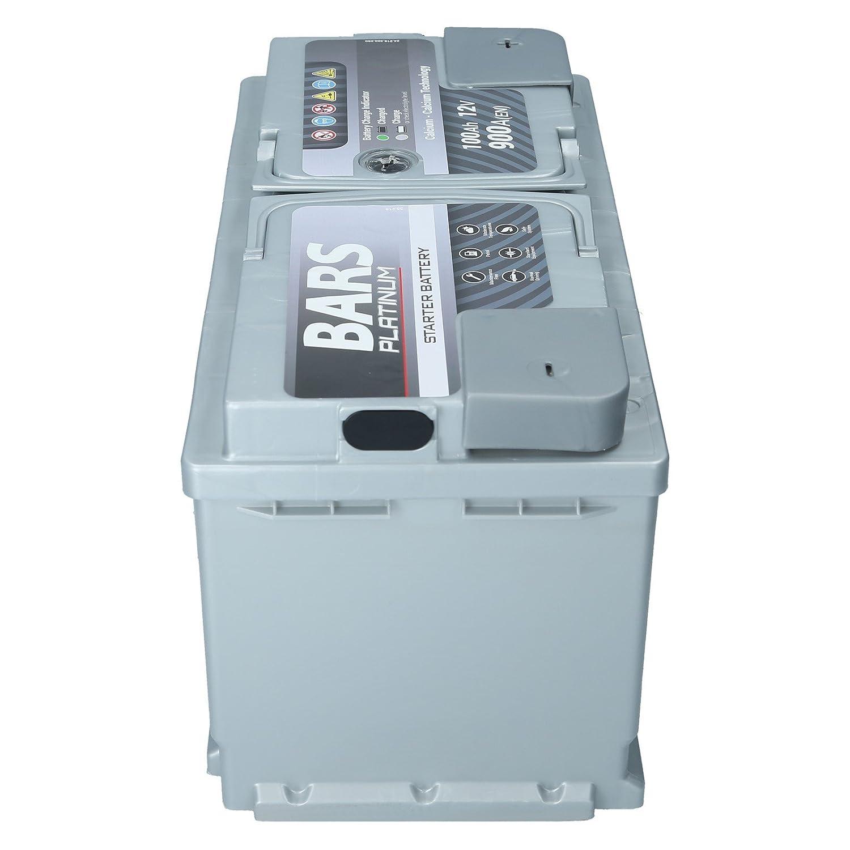 Autobatterie 12V 100Ah 900A Bars Platinum Starterbatterie Wartungsfrei