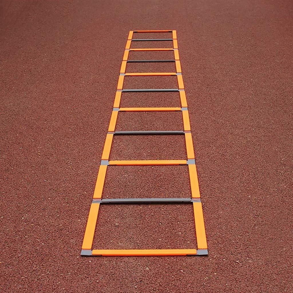 Escalera de agilidad, entrenamiento escalera de salto de paso, escalera de agilidad velocidad Escalera for entrenamiento de la velocidad de fútbol, velocidad de paso de escalera obstáculo doble prop: Amazon.es: Deportes y