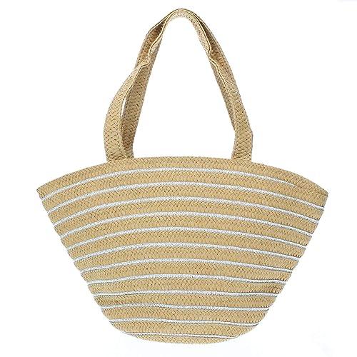 MISEMIYA - Bolsos rafia para mujer bolso shopper bolso de ...