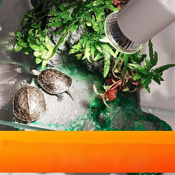 MEILI Tortuga Sol De Nuevo Bulbo De Espectro Completo Luz Solar Reptil Lagarto De Calcio Lámpara De Calefacción UV,25W: Amazon.es: Hogar