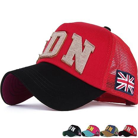 bae950a10 Amazon.com: Rayna Fashion Mesh Snapback Trucker Hat Structured ...