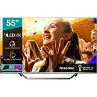 "Hisense ULED 2020 55U71QF - Smart TV 55"" Resolución 4K, Quantum Dot, FALD, Dolby Vision, Dolby Atmos, Vidaa U 4.0 con IA…"