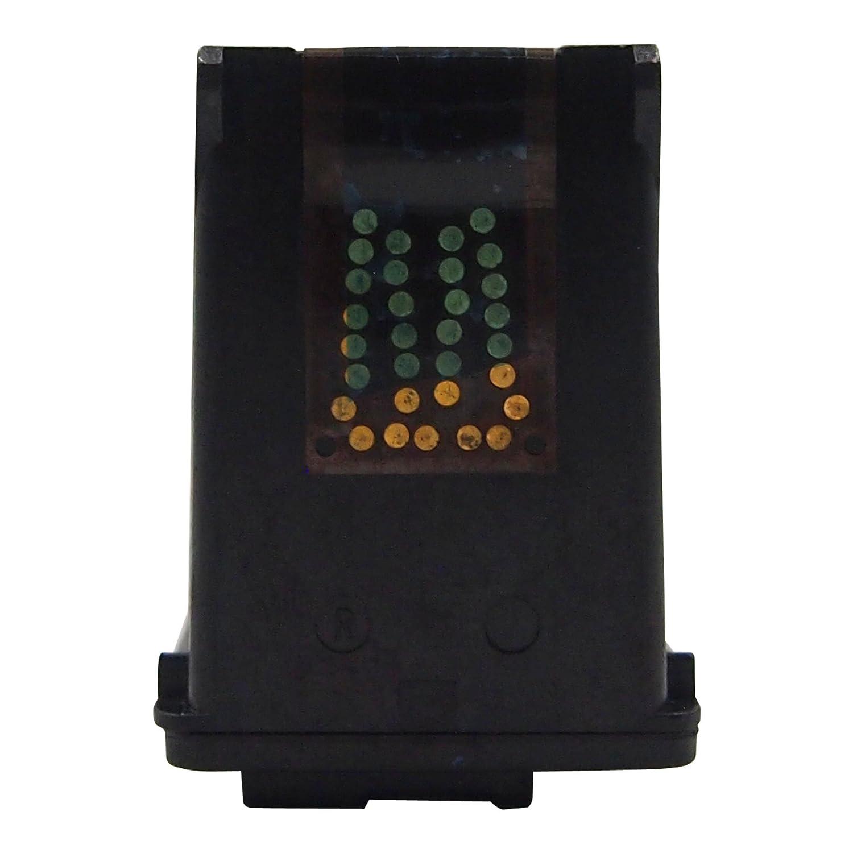 HaloFox 2 Remanufacturado Cartuchos de tinta 350XL 351XL Negro & Tricolor Compatible para HP Photosmart C4480 C4580 C4585 C7280 C4380 C4280 C4340 ...